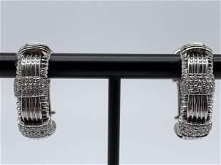 Roberto Coin 18kt Gold Multi Diamond Earrings