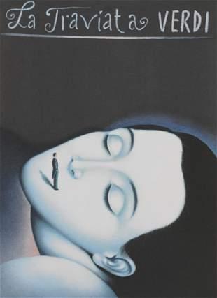 La Traviata, Verdi Poster