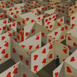 Illusive Specificity of Random Compliment (Maze of