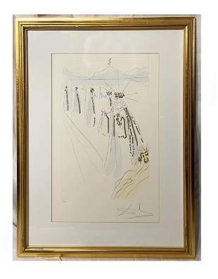 Salvador Dali Song of Songs Etching ED Lithograph