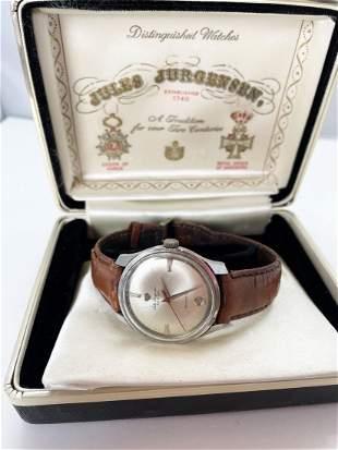 Jules Jurgensen Yellow 10K G.F. Vintage Watch
