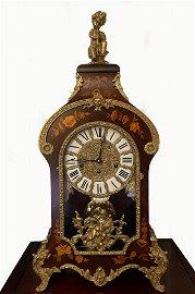 Versailles Pendulum Rosewood & Bronze Mantle Table
