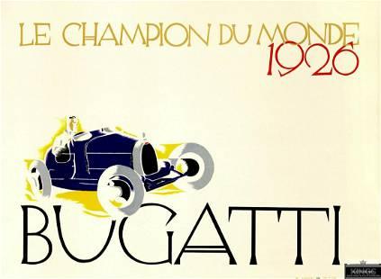 Bugatti - Le Champion du Monde