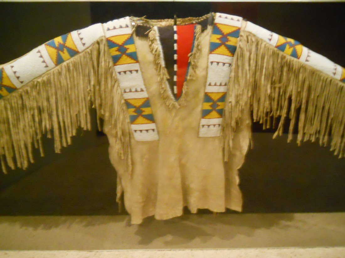 "39: BEADED WAR JACKET""BLACKFOOT""MONTANA ,1800s"