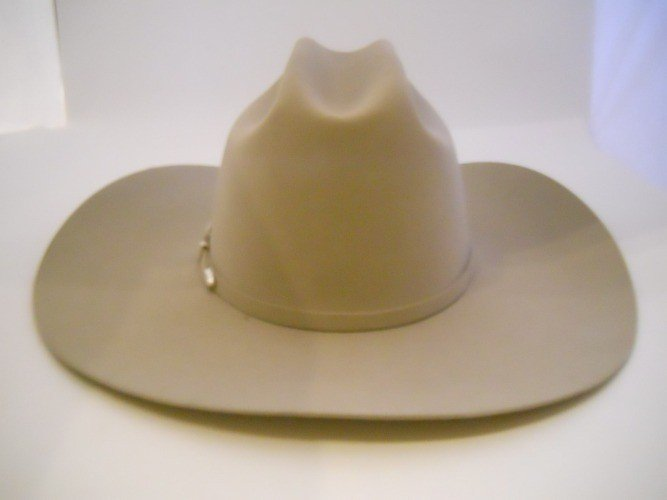 126: GENE RODDENBERRY FAMILY OWNED STETSON HAT
