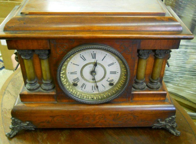 144: SETH THOMAS MANTLE CLOCK