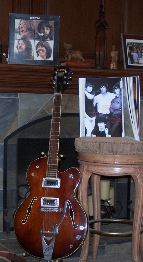 "504: 1963 GRETSCH BIGSBY GUITAR ""GEORGE HARRISON"""