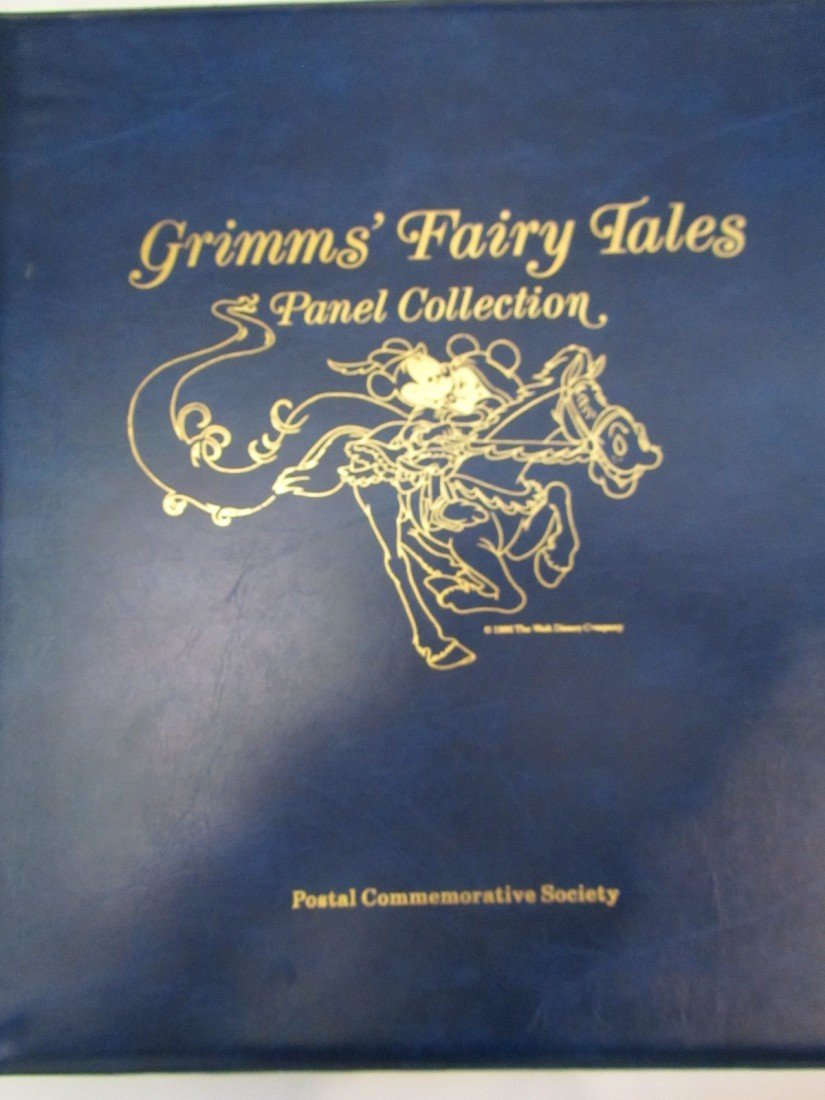 659: DISNEY GRIMM'S FAIRY TALES STAMP PANEL COLLECTION