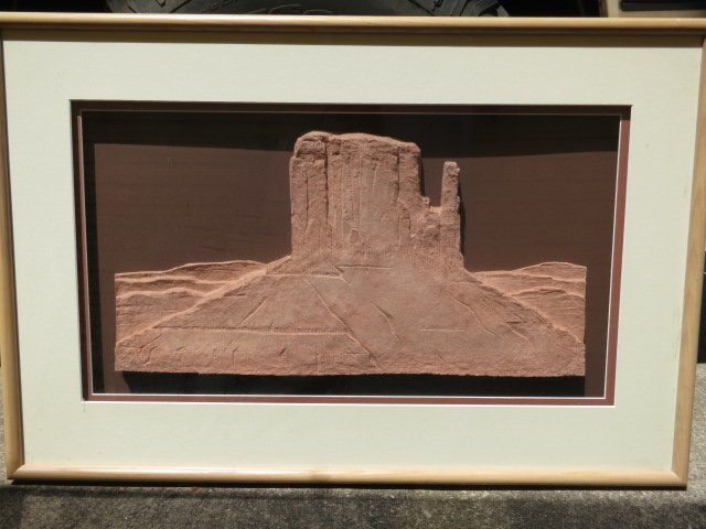 5: CARL BANDY,SIGNED ART,WEST MITTEN MONUMENT VALLEY