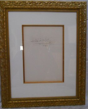 81: AUTHENTIC SALVADOR DALI SIGNED,COA,DRYPOINT ETCHING