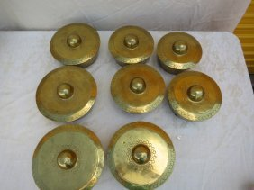 8 PIECE,BRASS COVERS