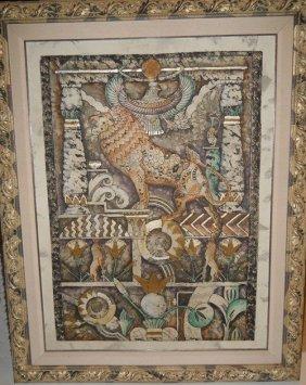 142: PHAROAHS PALACE,SIGNED WHITEHURST,PAINTING
