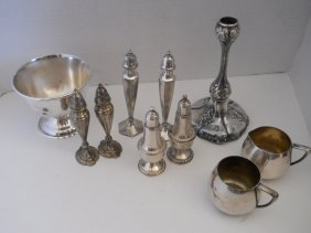 MIXED STERLING/SILVER PLATED LOT