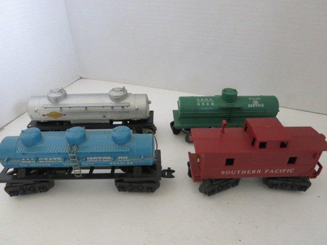 169: TRAIN CARS LIONEL 4 PC
