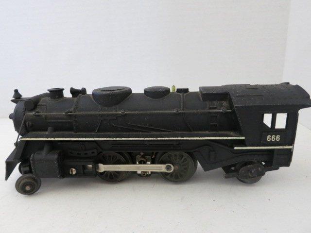 172: MARX STEAMER ENGINE, VINTAGE DIE-CAST TRAIN