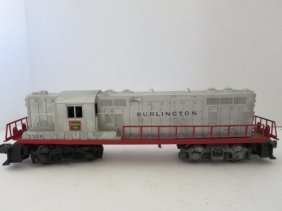 VINTAGE ELECTRIC MODEL TRAIN, BURLINGTON #2328