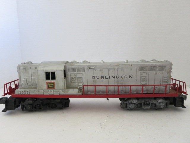 173: VINTAGE ELECTRIC MODEL TRAIN, BURLINGTON #2328