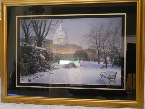 """206: PROOF """"EVENING ON THE HILL"""" BY ROD CHASE, SIGNED &"""
