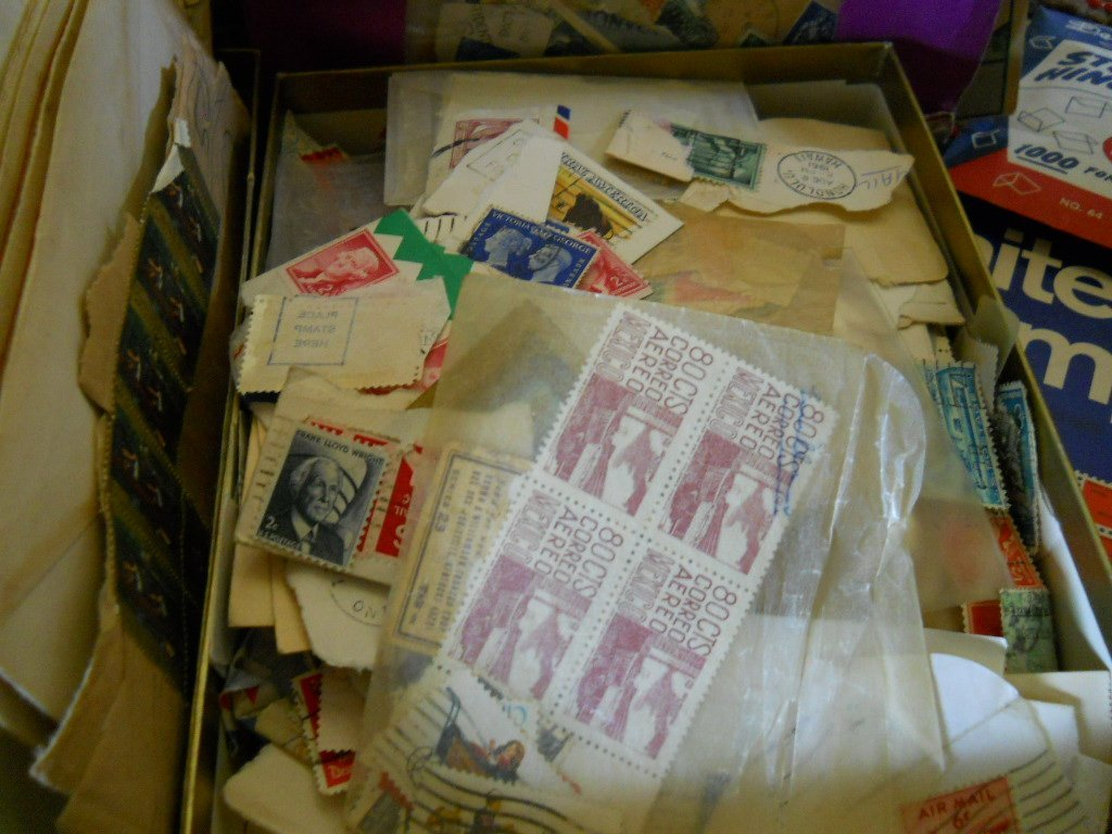 408: OLD STAMP COLLECTION MISC MIX.. - 2