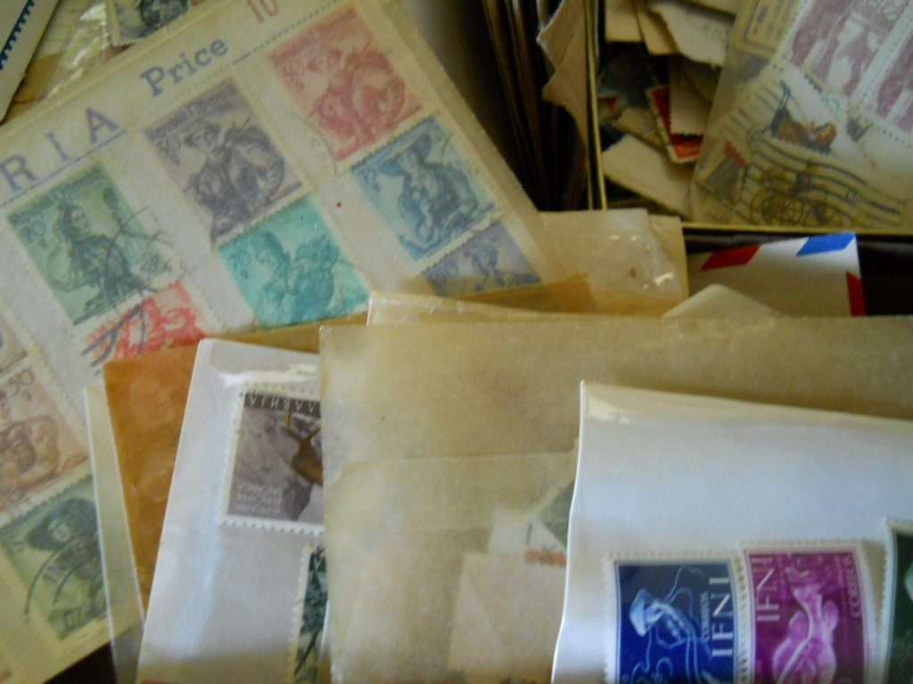 408: OLD STAMP COLLECTION MISC MIX.. - 4
