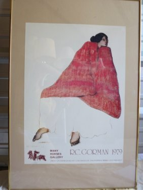 3: SIGNED R.C GORMAN, DOUBLE SIGNED 1979, LITHOGRAPH