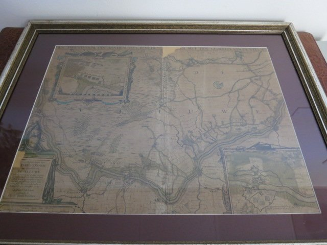 20: ANTIQUE MAP DEN YSEL-STROOM 1629 CLAES IAN B .VILSC