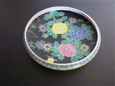 208: NIPPON, CHINESE PORCELAIN FAMILLE NOIRS PARADISE B