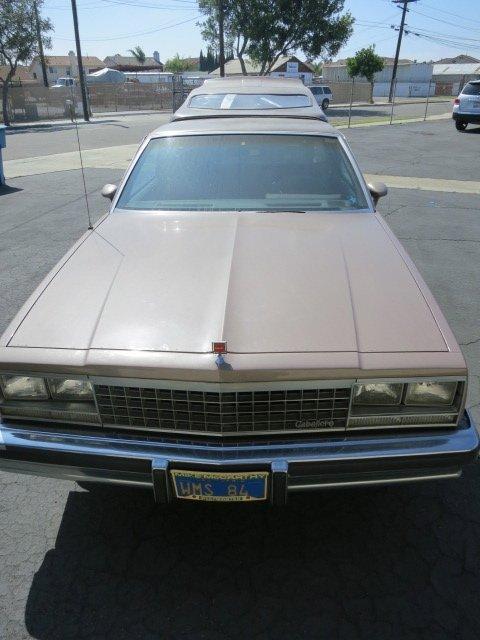 1984 GMC CABALLERO ,VIN #,CAMPER,1 OWNER