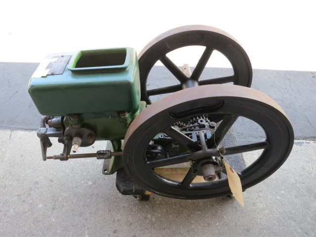 ANTIQUE 1916 EMPIRE HIT MISS 5 HP STATIONARY GAS ENGINE