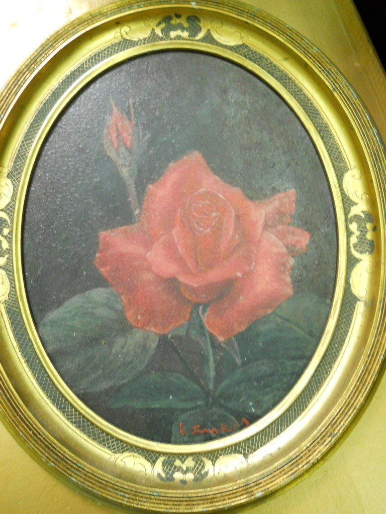 10: SIGNED OIL ON BOARD,ORIENTAL ARTIST,SIGNED