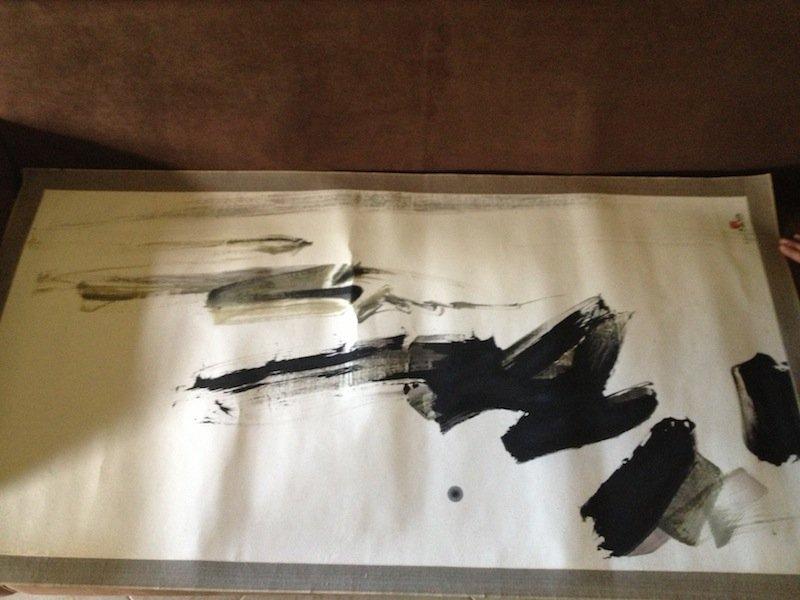 600: ORIGINAL 1968 LIU KUO-SONG,LUI GUOSONG INK,PAPER
