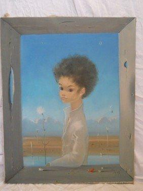 RUSSIAN ARTIST IGOR PANTUHOFF,SIGNED OIL