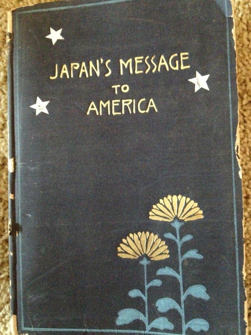 JAPAN TO AMERICA US-JAPAN RELATIONS 1914 NAOICHI MASAOK