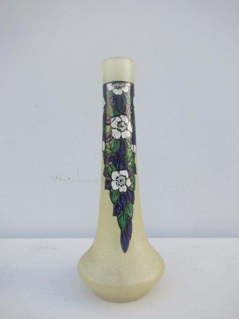 Luene Vase ,Hand Painted