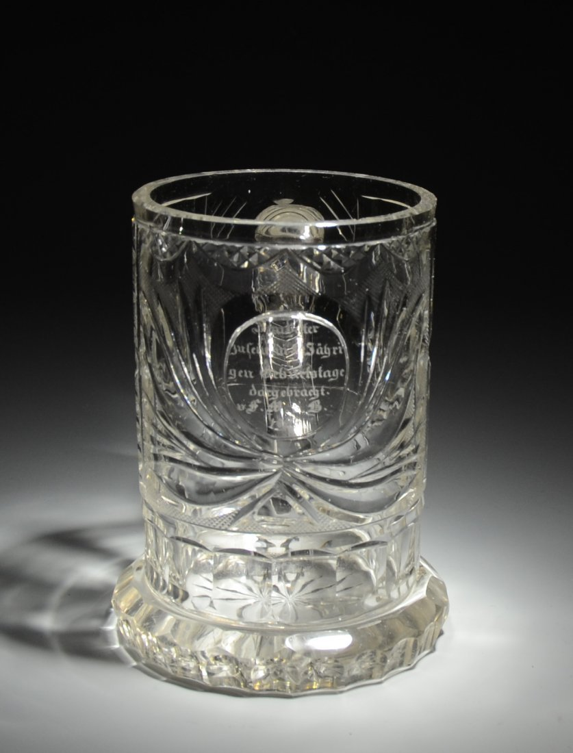 20: Clear Glass Mug