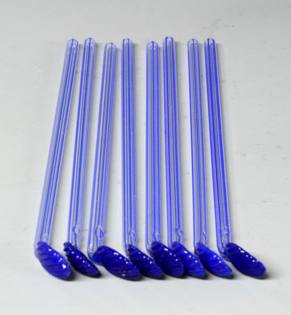 21: Czech Glass Sipper Straws