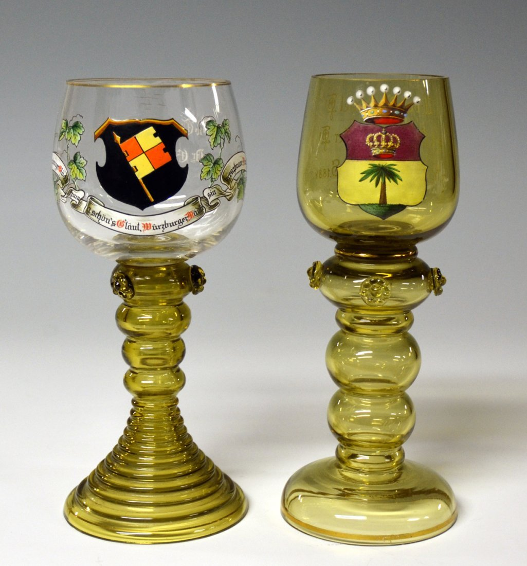 Two Wine Goblets
