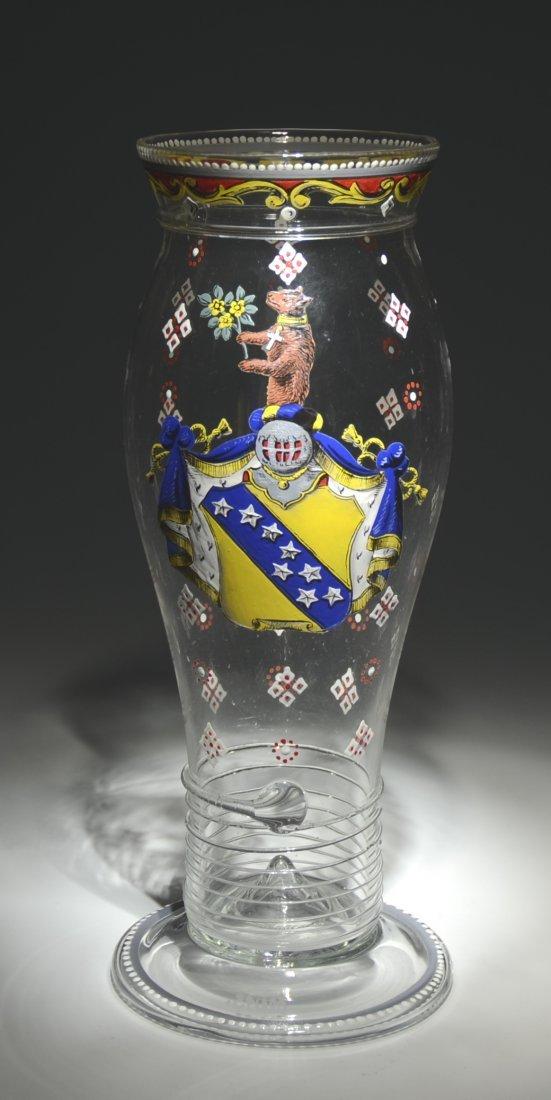 Enameled Vase