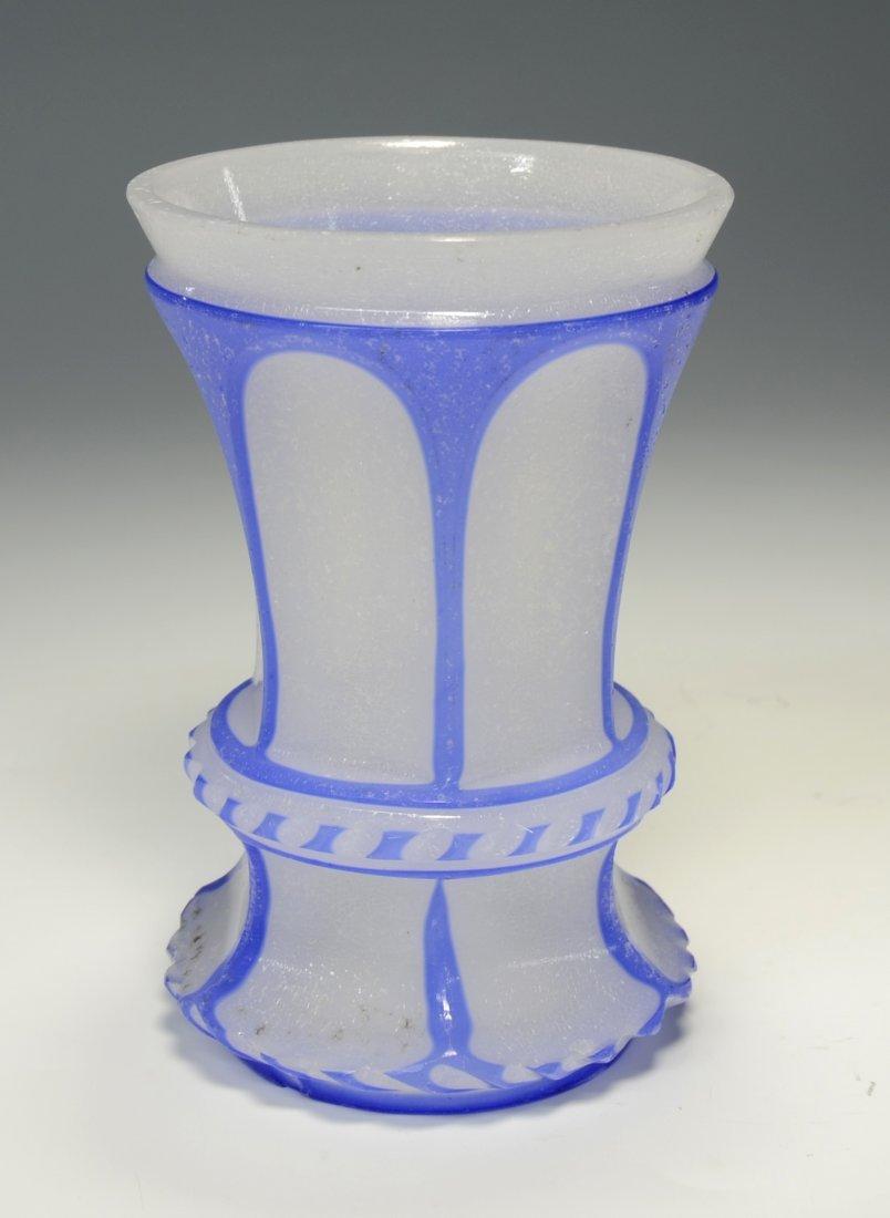Opaline Overlay Beaker