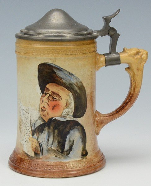 Porcelain Stein, by Manning Bowman & Co. Meriden Conn.