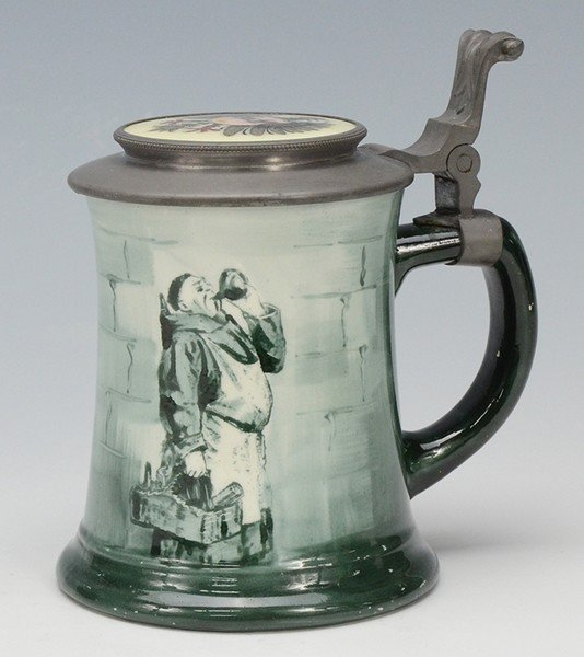 Porcelain Stein, by O'Hara Dial Co. Waltham Mass.