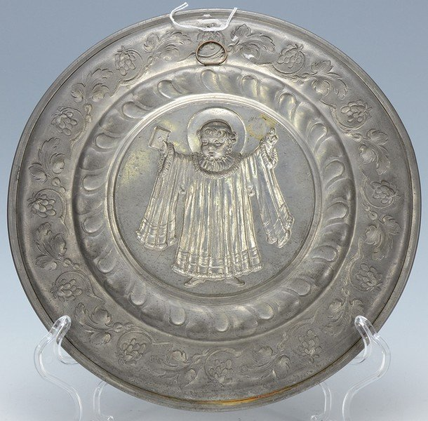 Pewter Wall Plaque - 3