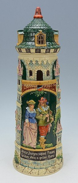 Pottery Tower Stein