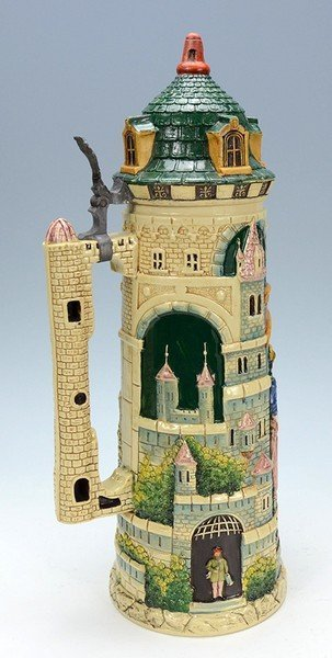 Pottery Tower Stein - 2