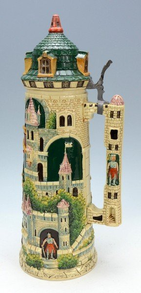 Pottery Tower Stein - 3