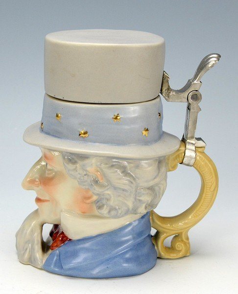 Uncle Sam Character Stein - 3