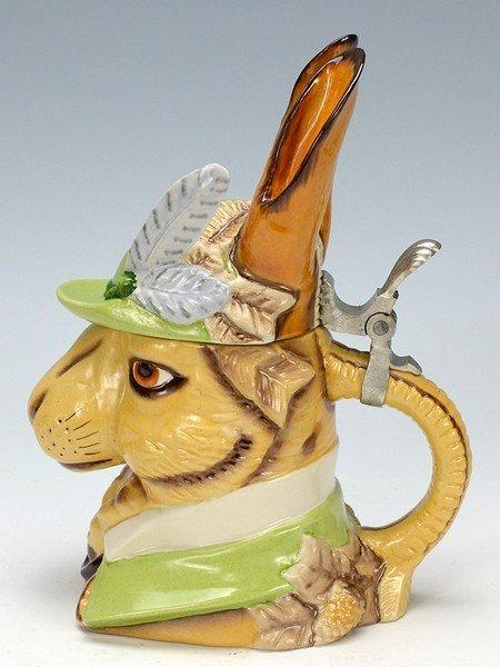Gentleman Rabbit Character Stein - 3