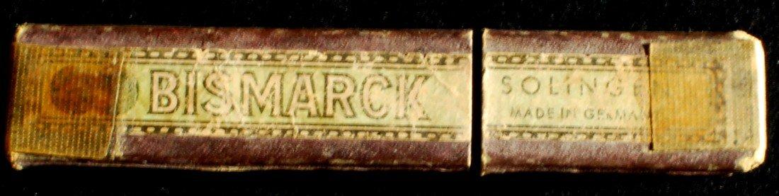 2: Bismark Straight razor, Solingen