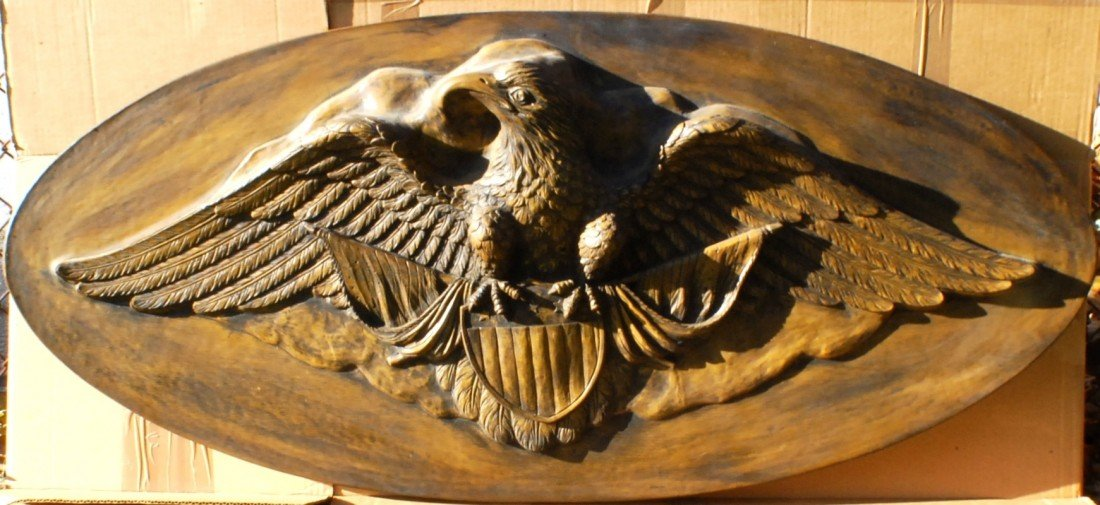 3: Large Eagle Wall Plaque