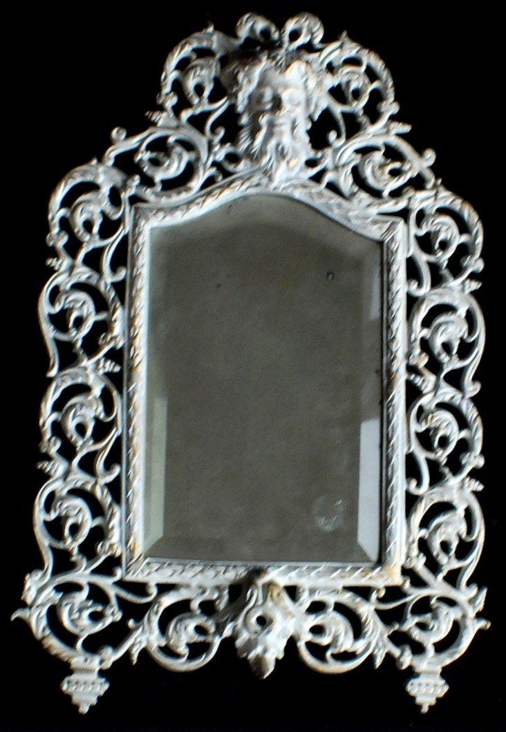 8: Bradley & Hubbard Art Nouveau mirror
